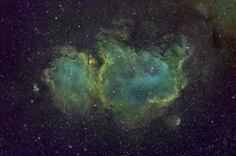 Sálarþokan - Soul nebula (IC 1848).