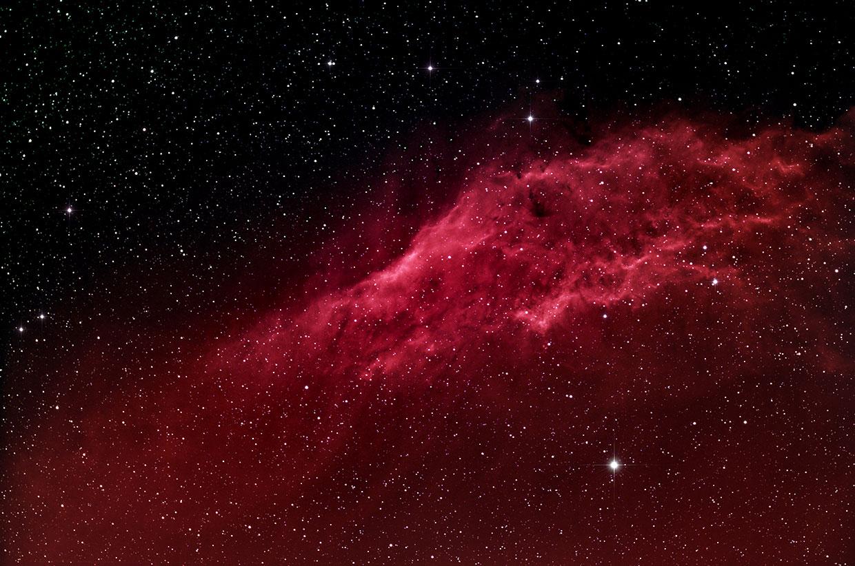 Kaliforníuþokan - Californa nebula (NGC 1499).