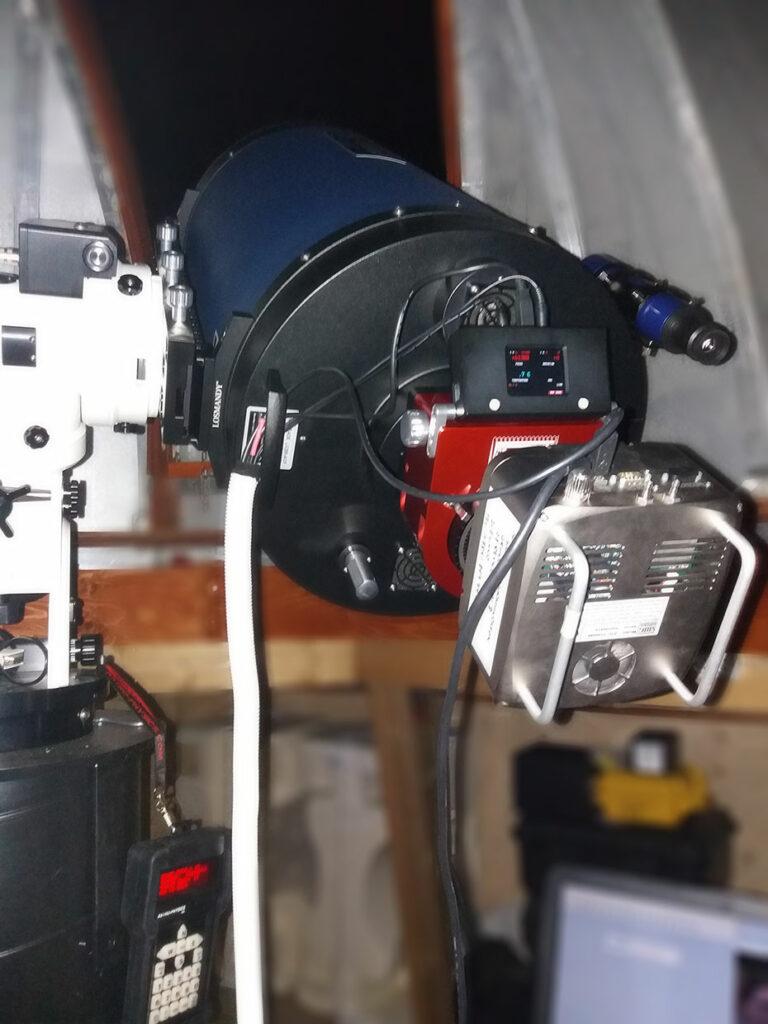 Myndbúnaðurinn - Imaging  setup