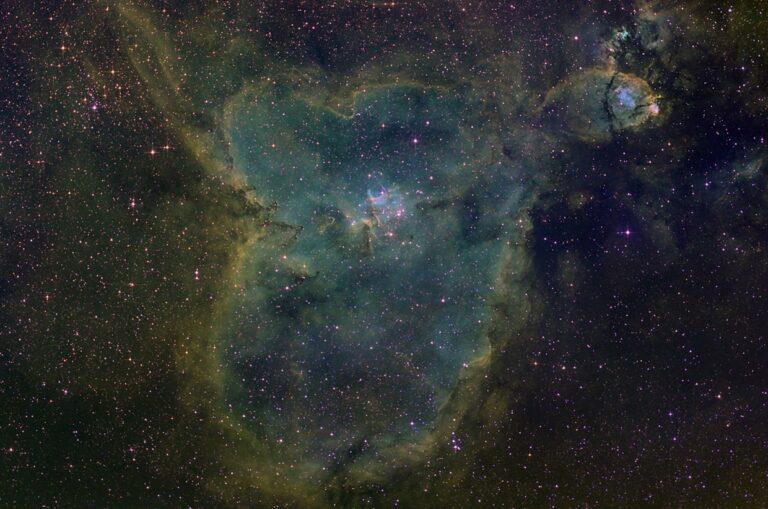 Hjartaþokan - Heart nebula (IC 1805)