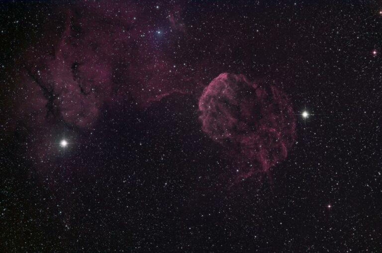 Marglyttan - Jellyfish nebula (IC 433)