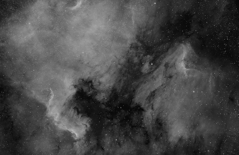 Norður-Ameríkuþokan - North America nebula (NGC 7000).