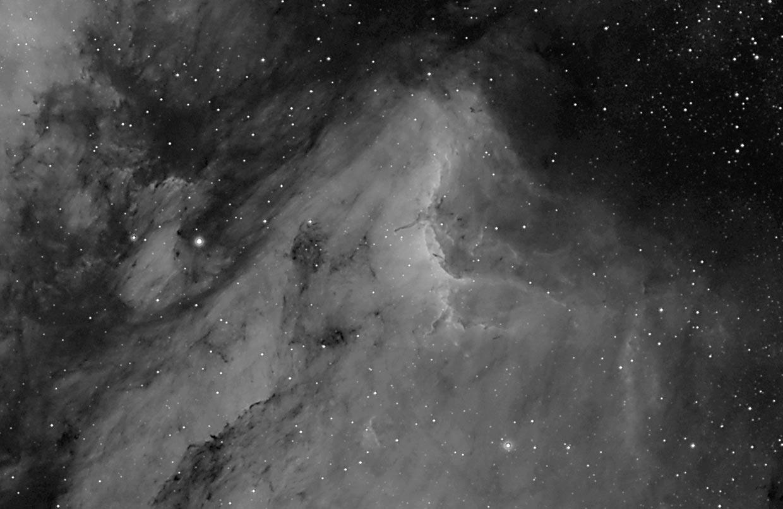Pelíkaninn - Pelican nebula (IC 5070).