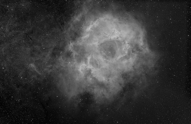 Rósettuþokan - Rosette nebula (NGC 2237-2244).