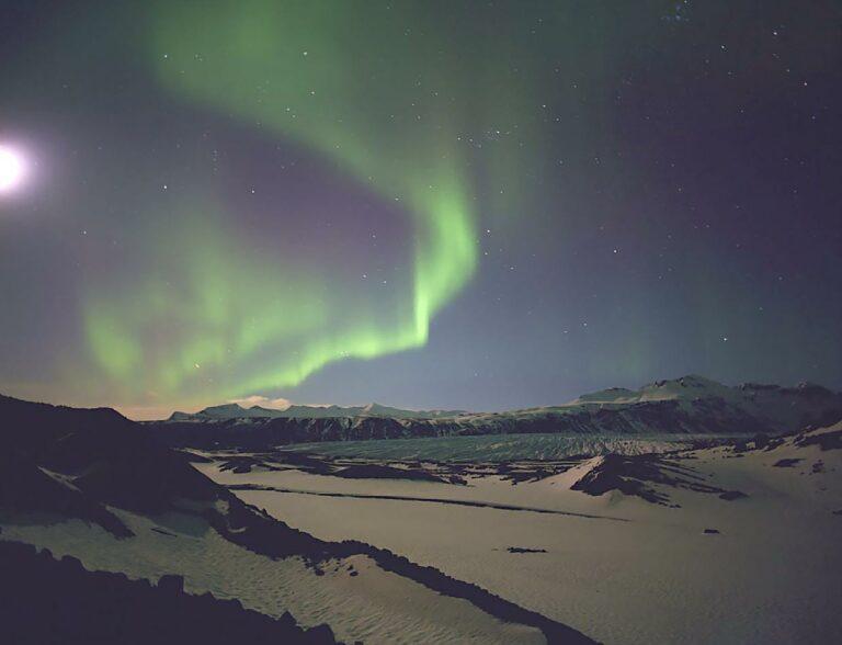 Skaftafell, Southeast Iceland.