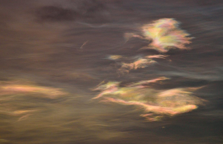 Glitský - Nacreous clouds, 03-02-2018.