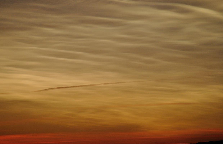 Glitský - Nacreous clouds, 02-12-2017.