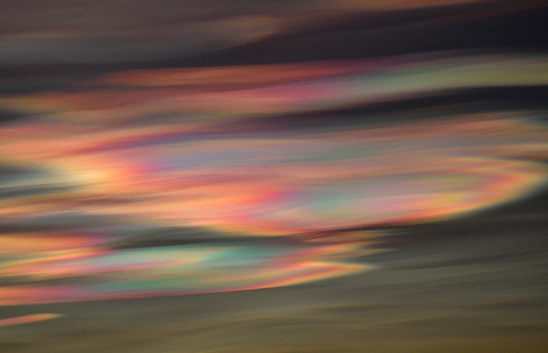 Glitský - Nacreous clouds, 03-01-2020.