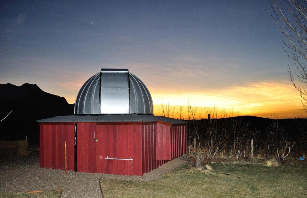 Vetrarsýn, stjörnustöðin - Winterview, the Observatory